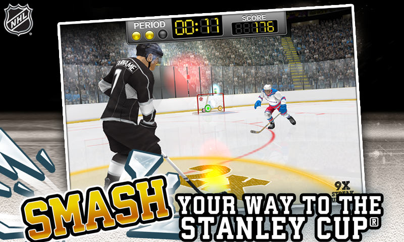 NHL Hockey Target Smash Screenshot 1