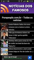Screenshot of Notícias dos Famosos