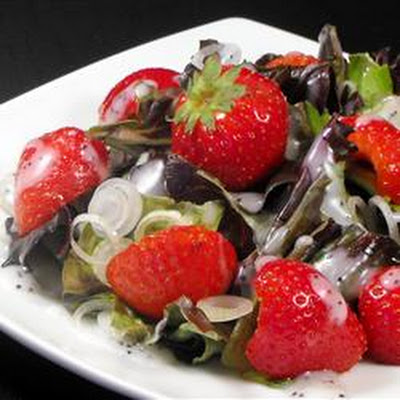 Strawberry Onion Salad