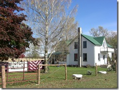 mennonite farm and quilts