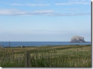 nb Bass Rock over golf course