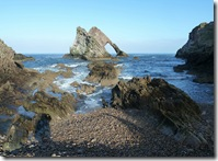 ptk bow fiddle rock from beach
