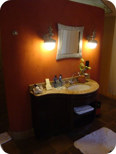 fairmont masai mara tent bathroom