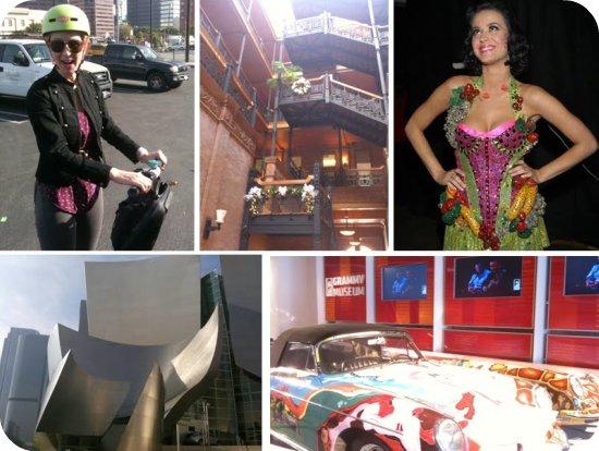segway + grammy museum + LA Live