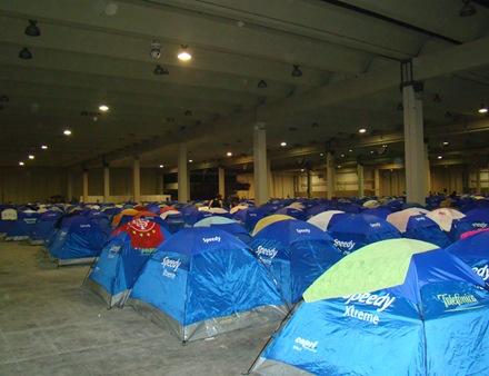 Barracas Armadas Campus Party 2009