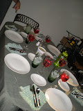 The table set before we all dug in.