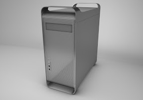 Apple Mac Pro<br /> erstell mit Cinema 4D