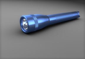 Mac Light Taschenlampe erstellt mit Cinema 4D