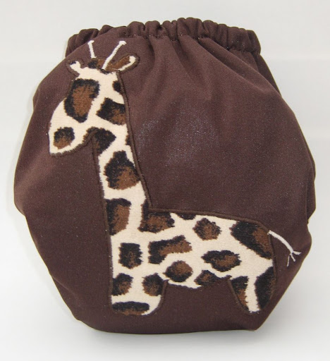 Giraffe Freehand Applique