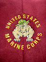 USMC Dog Embroidery