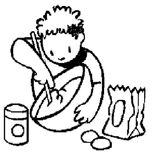 Pintar dibujos de cocina alimentos y utensilios - Utensilios de cocina para ninos ...