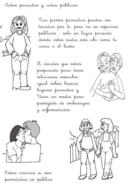 FICHAS DE EDUCACION SEXUAL PARA NIÑOS