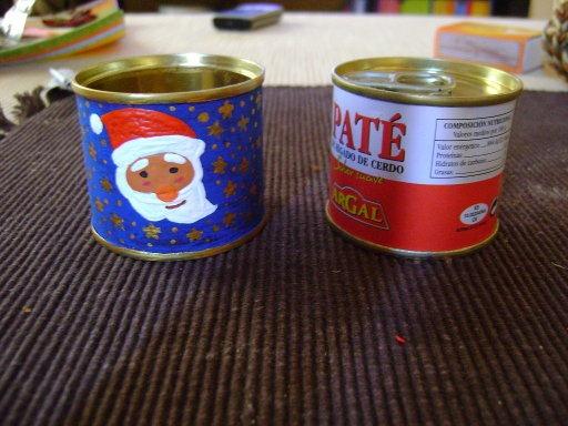 portavelas navidad reciclados (2)