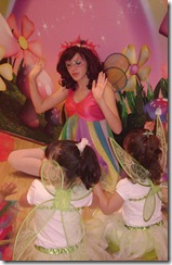 girls with rainbow fairy