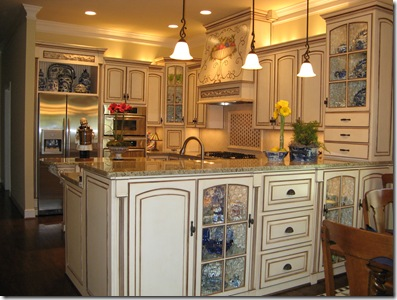 Kitchen Peninsula Ideas on We Chose St  Cecelia Granite To Compliment The Cabinet Color And Used