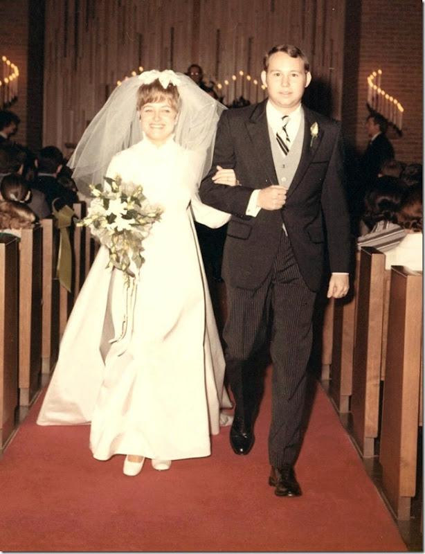 Kathy Larry wedding