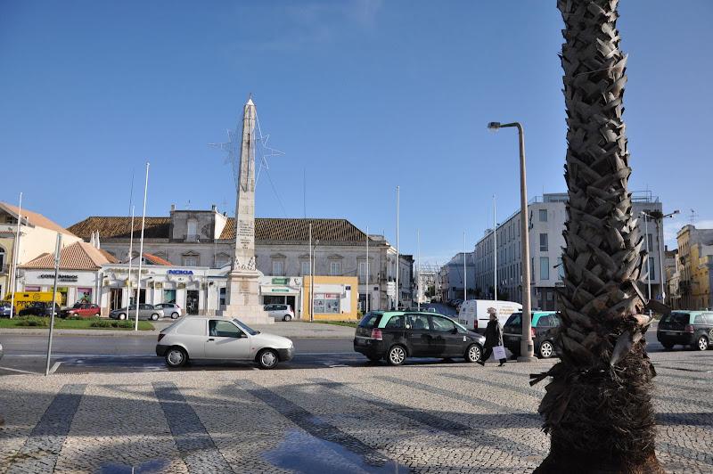 Окрестности автовокзала в Фаро