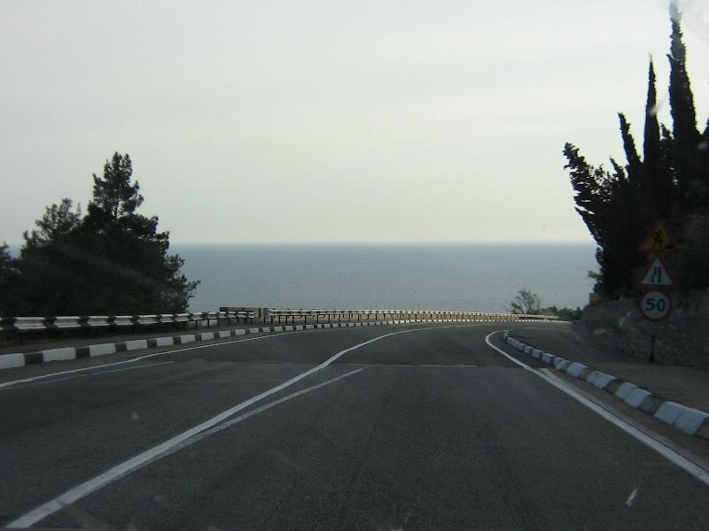 Крым, дорога из Ласпи в Форос