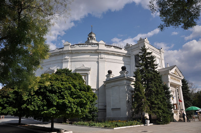 Панорама обороны Севастополя