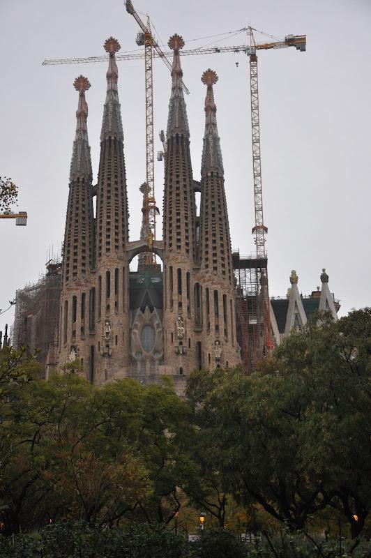Барселона. Саграда Фамилиа