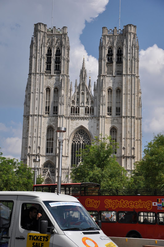 Кафедральный Собор в Брюсселе