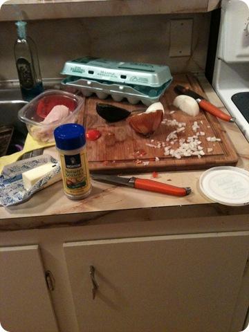 omeletmess