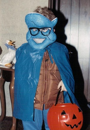 Kale in Crest Toothpaste costume - 1989