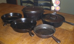 Cast iron set 2009