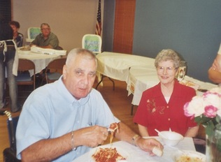 Dad and Mom at fund raiser