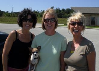 Jacq, Jodi, Becky and Ava 2 083009