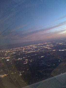 Flying into Houston to look for a home 103009a