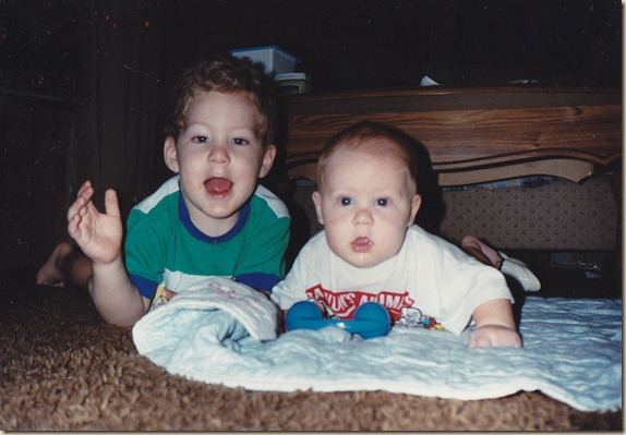 Kale and Ty 1989