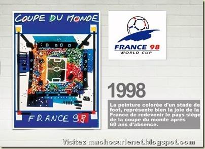 Affiche France 1998