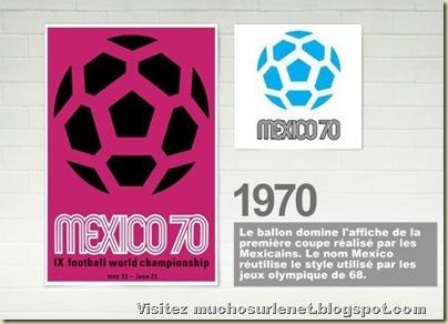 Affiche Mexico 1970