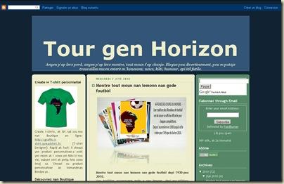 Tour d'Horizon en Haïtien Créole