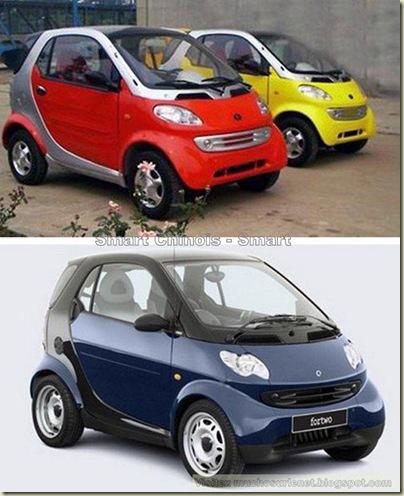 Les constructeurs automobiles chinois préfèrent copier-7