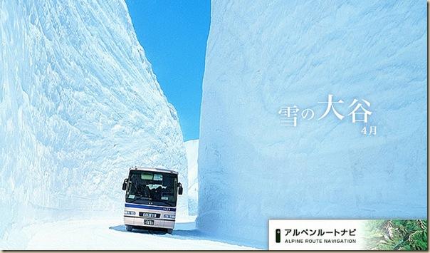 15 metres de neige
