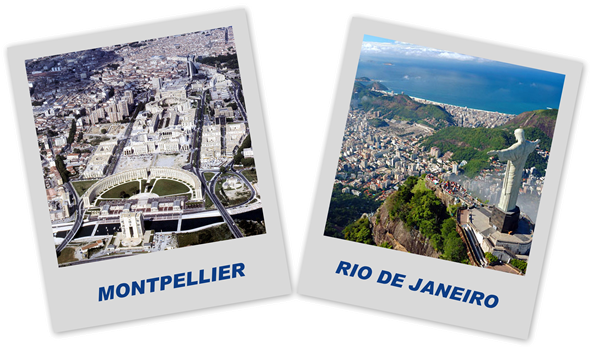 Monpellier jumelle avec Rio de Janeiro