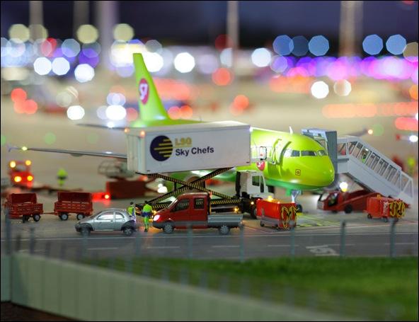 Maquette de l'aéroport de Knuffingen sur 1tourdhorizon.com-16