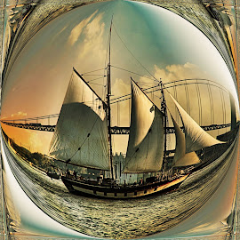 Ship in a bottle by Valerie Stein - Uncategorized All Uncategorized