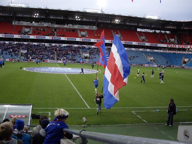 iPhone Gregy, Ullevål Stadion, Vålerenga 2009