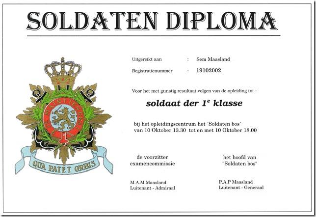 soldatendiploma