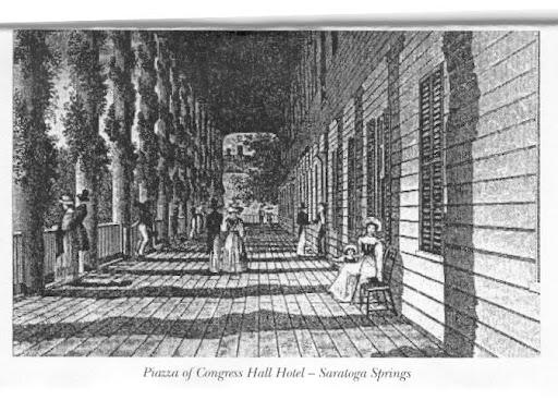 Edgar Allan Poe and Saratoga