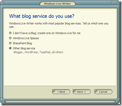 Windows Live Writer - 2