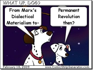 Dalmations quoting Marx