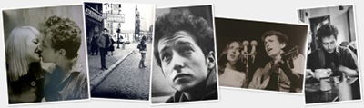 Ver Algunas fotos de Bob Dylan en 1963 y 1965, por Jim Marshall