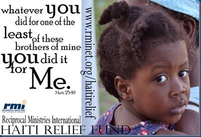 Haiti Relief Facebook Image