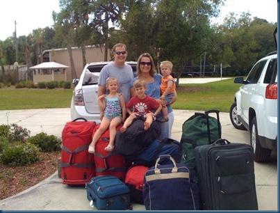 Rob & Becky leaving for Haiti