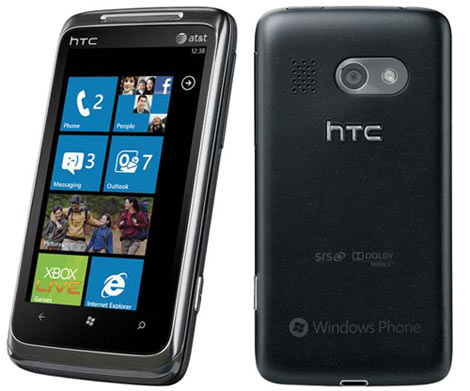 HTC Surround WP 7 USA