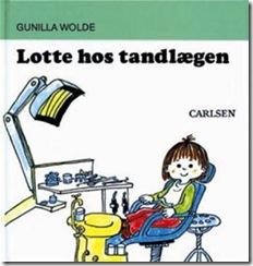SÅ spændende oplevede jeg engang en tur hos tandlægen... Som en leg - som en Lotte-bog!